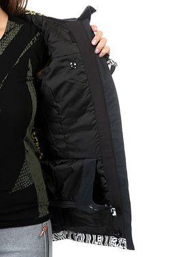 Куртка Andie Hattie Stewart Eyeca Roxy                                                                                                              чёрный цвет