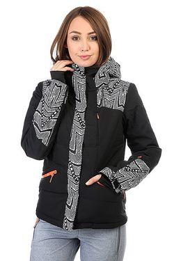 Куртка Flicker Mauritius Daze Egret Roxy                                                                                                              чёрный цвет