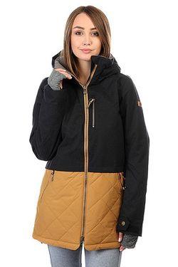 Куртка Hartley True Roxy                                                                                                              чёрный цвет