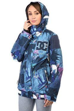 Куртка Женская Dc Dcla Howling Moon Dcshoes                                                                                                              многоцветный цвет