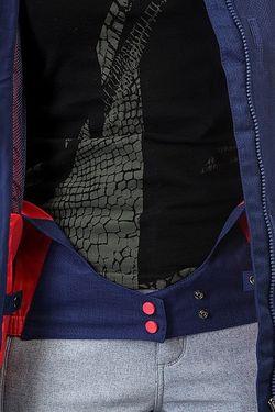 Куртка Женская Rx Jetty Blo Botanik Bright Roxy                                                                                                              синий цвет