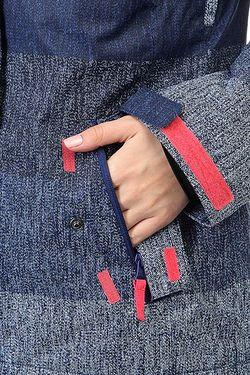 Куртка Rx Jetty Blo Hugestrip Print Roxy                                                                                                              синий цвет