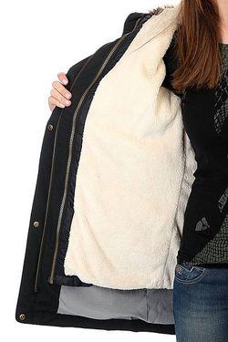 Куртка Парка Женская Amy 3n1 True Black Roxy                                                                                                              черный цвет