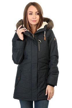 Куртка Парка Tara True Roxy                                                                                                              серый цвет