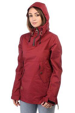 Анорак Сноубордический Skyline Cordovan Roxy                                                                                                              красный цвет