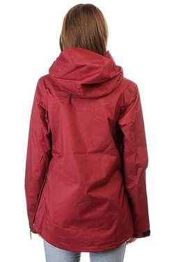 Анорак Сноубордический Женский Skyline Cordovan Red Roxy                                                                                                              красный цвет