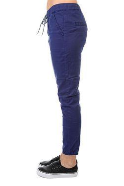 Штаны Прямые Your J Pant Print Roxy                                                                                                              синий цвет