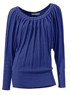 Пуловер В Рубчик Ashley Brooke                                                                                                              None цвет