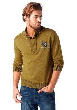 Пуловер С Воротником-Стойкой От Rhode Island                                                                                                              None цвет