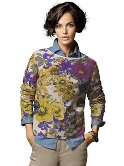 Пуловер Из Кашемира ALBA MODA GREEN                                                                                                              None цвет