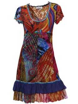 Платье С Принтом Linea Tesini                                                                                                              None цвет