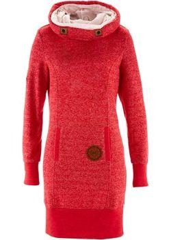 Трикотажное Платье bonprix                                                                                                              Клубничный цвет