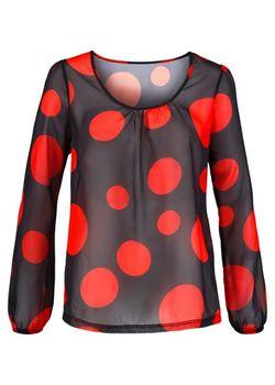 Блузка bonprix                                                                                                              красный цвет