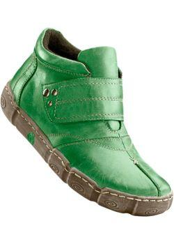Кожаные Ботинки bonprix                                                                                                              серый цвет