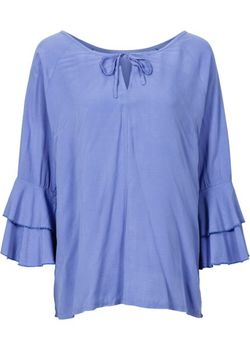 Блузка bonprix                                                                                                              синий цвет