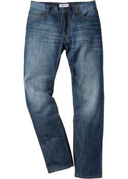 Джинсы Regular Fit Straight Cредний Рост N bonprix                                                                                                              голубой цвет