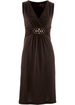 Трикотажное Платье bonprix                                                                                                              коричневый цвет