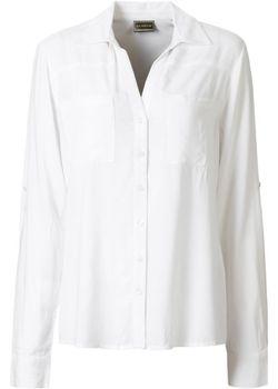 Блузка bonprix                                                                                                              белый цвет