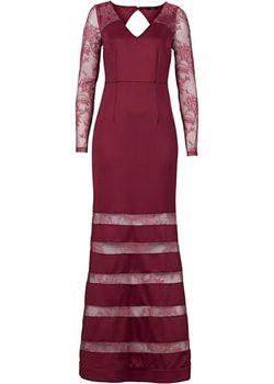 Вечернее Платье bonprix                                                                                                              красный цвет