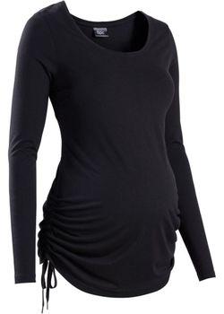 Мода Для Беременных Футболка С Длинным Рукавом bonprix                                                                                                              Темно-Бирюзовый Меланж цвет
