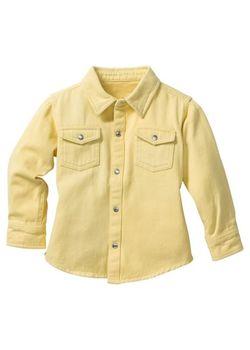 Рубашка Размеры 80/86-128/134 bonprix                                                                                                              желтый цвет