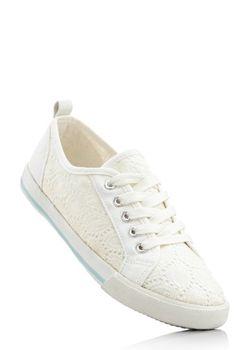 Кеды bonprix                                                                                                              белый цвет