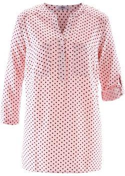 Блуза С Рукавами 3/4 bonprix                                                                                                              красный цвет