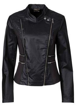 Байкерская Куртка С Покрытием bonprix                                                                                                              серый цвет