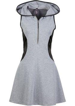 Платье С Капюшоном bonprix                                                                                                              черный цвет