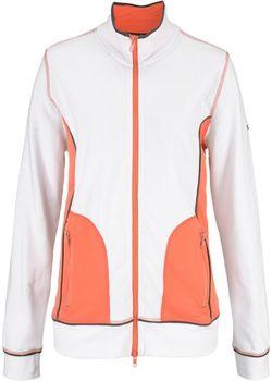 Трикотажная Куртка bonprix                                                                                                              белый цвет