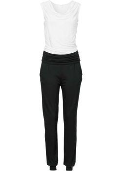 Трикотажный Комбинезон bonprix                                                                                                              чёрный цвет