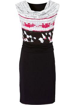 Трикотажное Платье bonprix                                                                                                              чёрный цвет