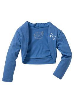Болеро Размеры 80/86-164/170 bonprix                                                                                                              голубой цвет