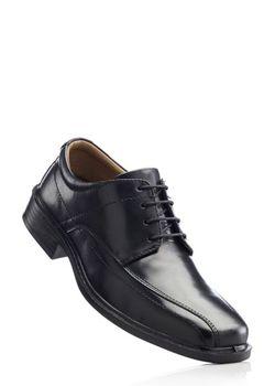 Кожаные Туфли bonprix                                                                                                              черный цвет