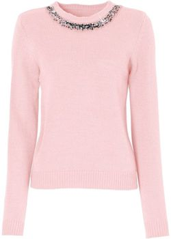 Пуловер bonprix                                                                                                              розовый цвет