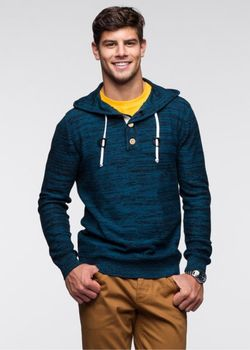 Пуловер bonprix                                                                                                              синий цвет
