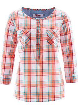 Блуза bonprix                                                                                                              красный цвет