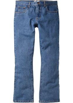Джинсы Regular Fit Bootcut Низкий Высокий Рост bonprix                                                                                                              голубой цвет