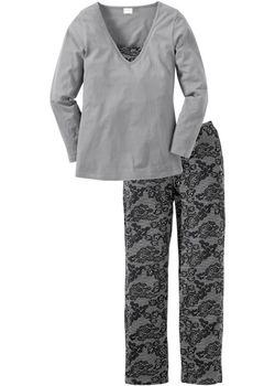 Пижама bonprix                                                                                                              черный цвет