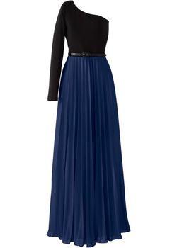 Платье bonprix                                                                                                              синий цвет