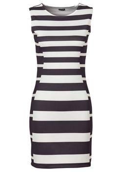 Трикотажное Мини-Платье bonprix                                                                                                              чёрный цвет