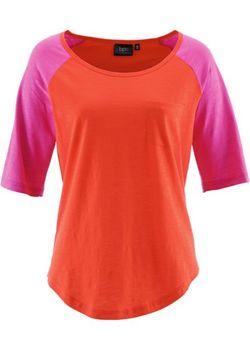 Футболка С Коротким Рукавом bonprix                                                                                                              оранжевый цвет