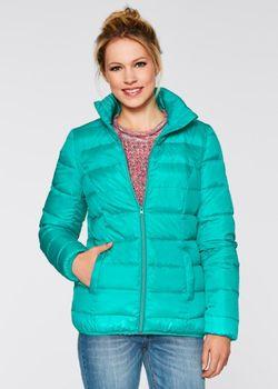 Стеганая Куртка bonprix                                                                                                              синий цвет