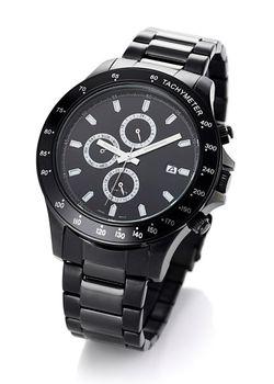 Мужские Часы На Металлическом Браслете bonprix                                                                                                              чёрный цвет