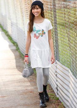 Платье Легинсы 2 Изд. Размеры 116-170 bonprix                                                                                                              серый цвет