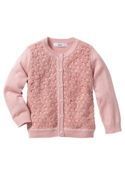 Кардиган Размеры 80/86-128/134 bonprix                                                                                                              розовый цвет