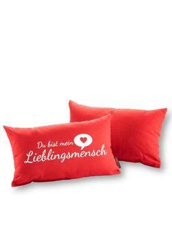 Подушка Любимый Человек 1 Шт. bonprix                                                                                                              красный цвет