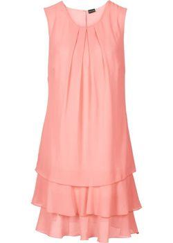 Шифоновое Платье bonprix                                                                                                              Мятный Пастельный цвет