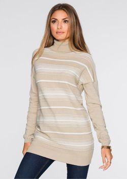 Пуловер bonprix                                                                                                              белый цвет