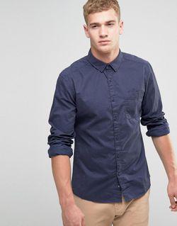 Рубашка Классического Кроя Из Хлопка С Начесом Esprit                                                                                                              None цвет